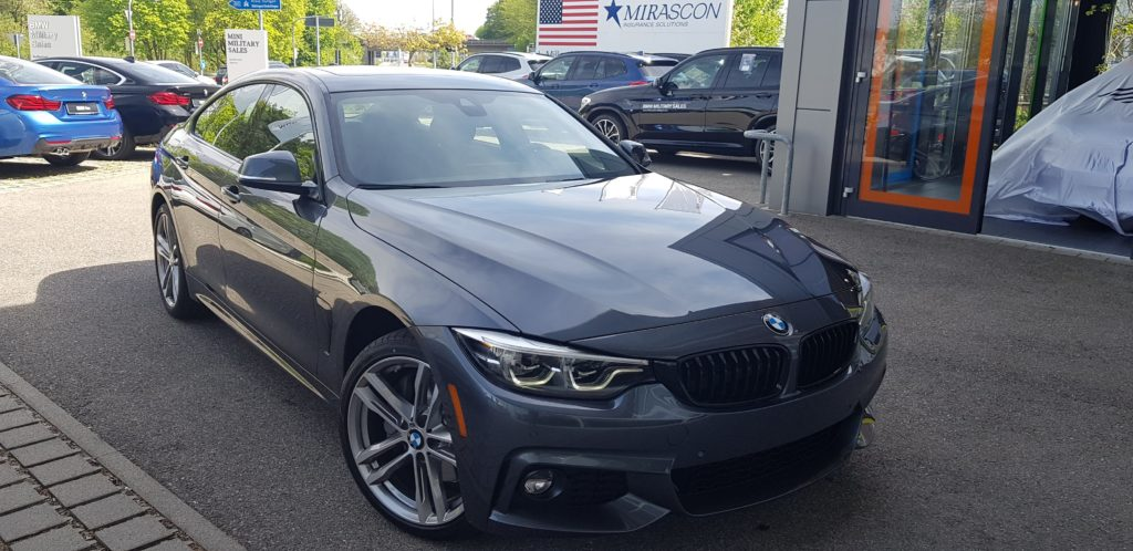 Paid cash for a brand new 2020 BMW 430i Gran Coupe