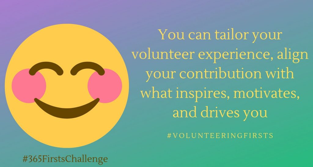 Tailor your volunteer experience