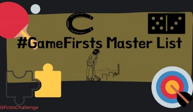 #GameFirsts Master List