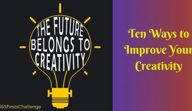 Ten ways to improve your creativity